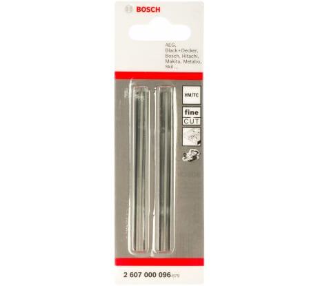 Фото прямых ножей Bosch затачивающиеся, 82 мм 2 шт 2.607.000.096