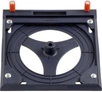 Приспособление для обработки радиальной поверхности для вертикального фрезера LINE MASTER KWB 7835-00