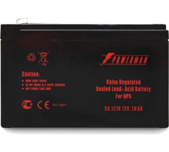 Батарея аккумуляторная CA1270/UPS для ИБП POWERMAN 6078965 1