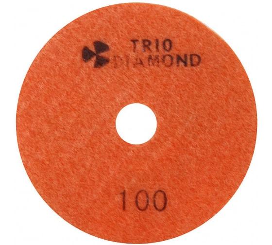 Купить круг алмазный гибкий шлифовальный черепашка 100 № 100 trio-diamond 340100 в Калуге - низкие цены, отзывы, быстрая доставка, гарантия