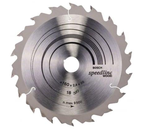 Фото пильного диска по древесине Bosch 160х20 мм 2.608.640.787