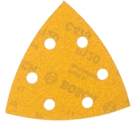 Фото шлифлиста по краске Bosch 102x62, 93 мм К120 10 шт 2.608.607.404