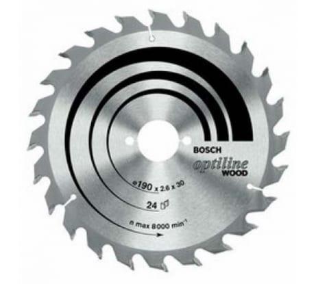 Фото пильного диска по дереву Bosch 190х30 мм 2.608.641.185