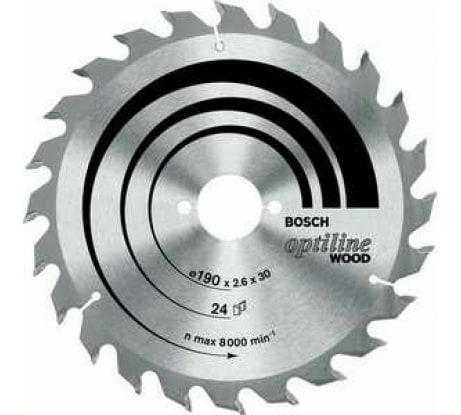 Фото пильного диска по древесине Bosch 190x30 мм 2.608.641.780