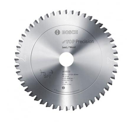 Фото пильного диска по дереву Bosch (28) 254x30 мм 2.608.642.102