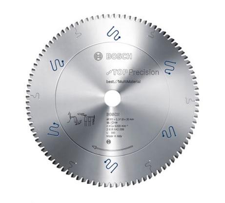Фото пильного универсального диска Bosch (28) 254x30 мм 2.608.642.098