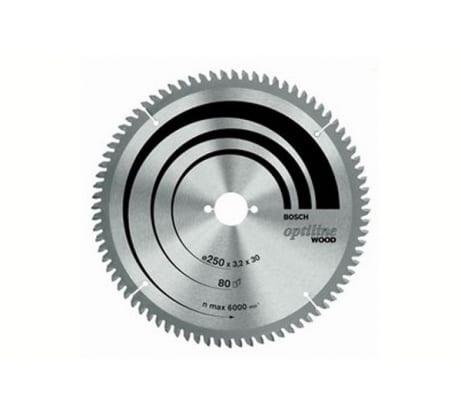 Фото пильного диска по древесине Bosch 254х30 мм 2.608.640.437