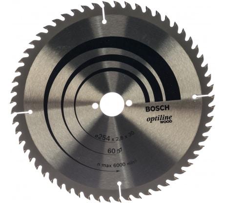 Фото пильного диска по древесине Bosch 254х30 мм 2.608.640.444
