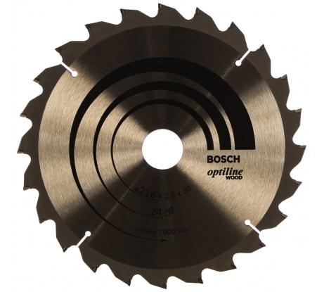 Фото пильного диска по древесине Bosch 216х30 мм 2.608.640.431