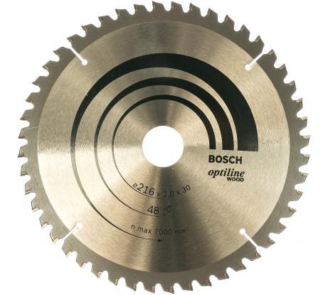 Фото пильного диска по древесине Bosch 216х30 мм 2.608.640.432
