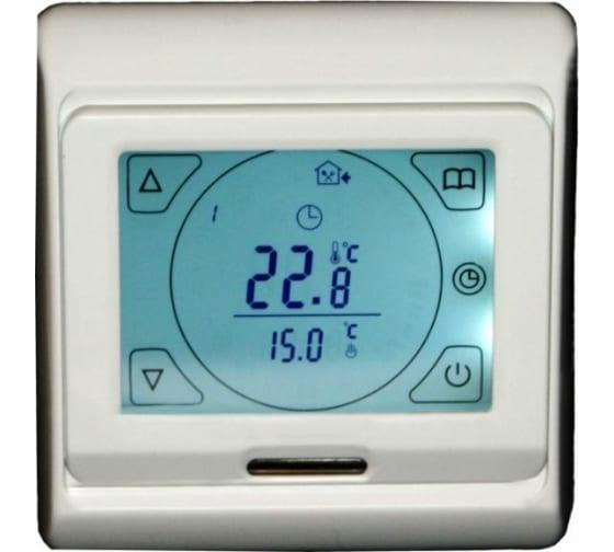 Купить терморегулятор varmel rtc 91.716 для теплого пола програмированный с сенсорн. жк дисплеем 303 в Ижевске - цены, отзывы, характеристики, доставка, гарантия, инструкция