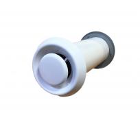 Клапан стеновой приточный вентиляционный LITE (90 мм; 260 мм; 26 м3/ч) NORVIND NVD_LITE