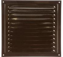 Решетка вентиляционная стальная с сеткой (200x200 мм; коричневая) ERA 2020МЭ кор 87-916