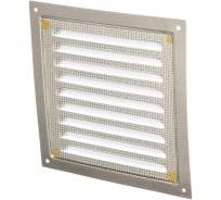 Решетка вентиляционная стальная оцинкованная 150х150 мм ERA 1515МЦ 86-857