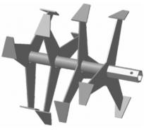 Фреза-культиватор S-32 для м/б Crosser, Weima, Хопер FORZA ФМБ.S32.390.355 00-00152698