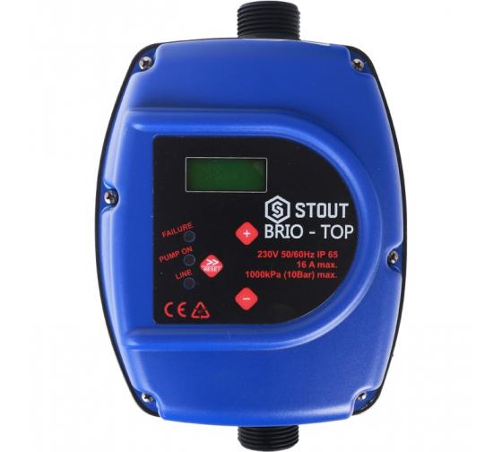 Устройство управления насосом BRIO-TOP STOUT SCS-0001-000062 1