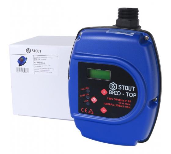 Устройство управления насосом BRIO-TOP STOUT SCS-0001-000062 2