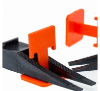 Система выравнивания плитки СВП зажим (100 шт; 1.5 мм) МастерОк 101