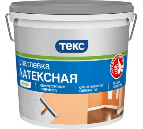 Шпатлевка латексная ПРОФИ 5 кг ТЕКС 19198 - цена, отзывы, характеристики, фото - купить в Москве и РФ