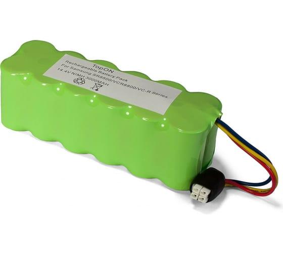 Аккумулятор для беспроводного робота-пылесоса Samsung Navibot (14.4В, 3Ач, Ni-MH) TopON PN: VCA-RBT20 TOP-SASR 1