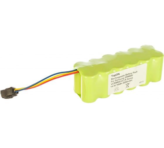 Аккумулятор для беспроводного робота-пылесоса Samsung Navibot (14.4В, 3Ач, Ni-MH) TopON PN: VCA-RBT20 TOP-SASR 2