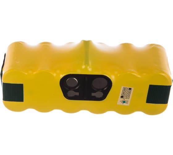 Аккумулятор для беспроводного робота-пылесоса iRobot Roomba (14.4В, 4Ач, Ni-MH) TopON PN: GD-ROOMBA-500 TOP-IRBT500-40 3