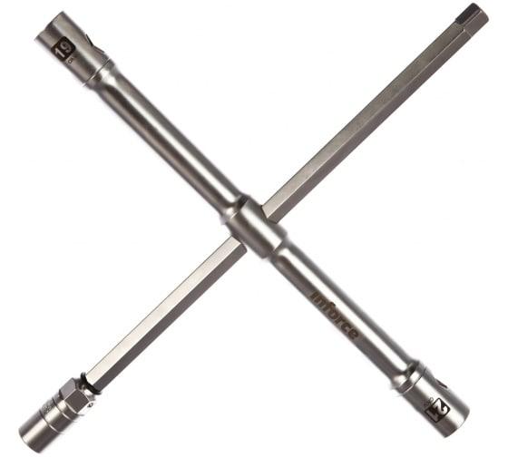 Купить баллонный крестообразный ключ 17, 19, 21мм inforce 06-05-85 в Ярославле - цены, отзывы, характеристики, доставка, гарантия, инструкция
