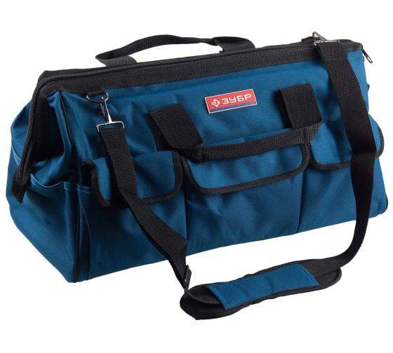 Купить сумку для инструмента зубр эксперт 17 карманов, 52см 38645-21 в Пензе - цены, отзывы, характеристики, доставка, гарантия, инструкция