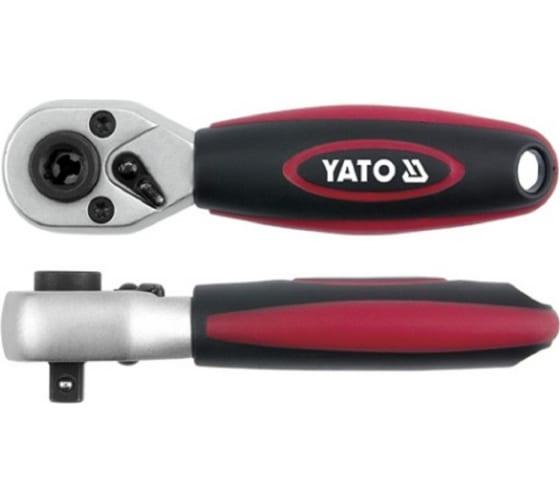 """Трещотка для бит YATO и гол. 1/4"""", CrV, 136мм YT-0331 в Ставрополе - цены, отзывы, доставка, гарантия, скидки"""