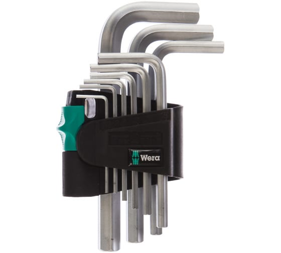 Набор Г-образных ключей WERA WE-021406 в Нижнем Новгороде - купить, цены, отзывы, характеристики, фото, инструкция