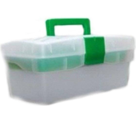 Ящик универсальный с лотком ЭВРИКА 285x155x125мм, прозрачный ER-10337 в Уфе - купить, цены, отзывы, характеристики, фото, инструкция