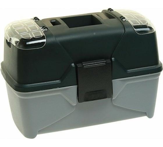 Универсальный ящик ЭВРИКА с контейнером, лотком и 2 органайзерами на крышке ER-10333 в Туле - цены, отзывы, доставка, гарантия, скидки