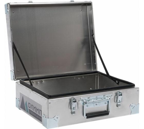 Алюминиевый ящик-кейс Олимп 450х350х180 453518 - цена, отзывы, характеристики, фото - купить в Москве и РФ
