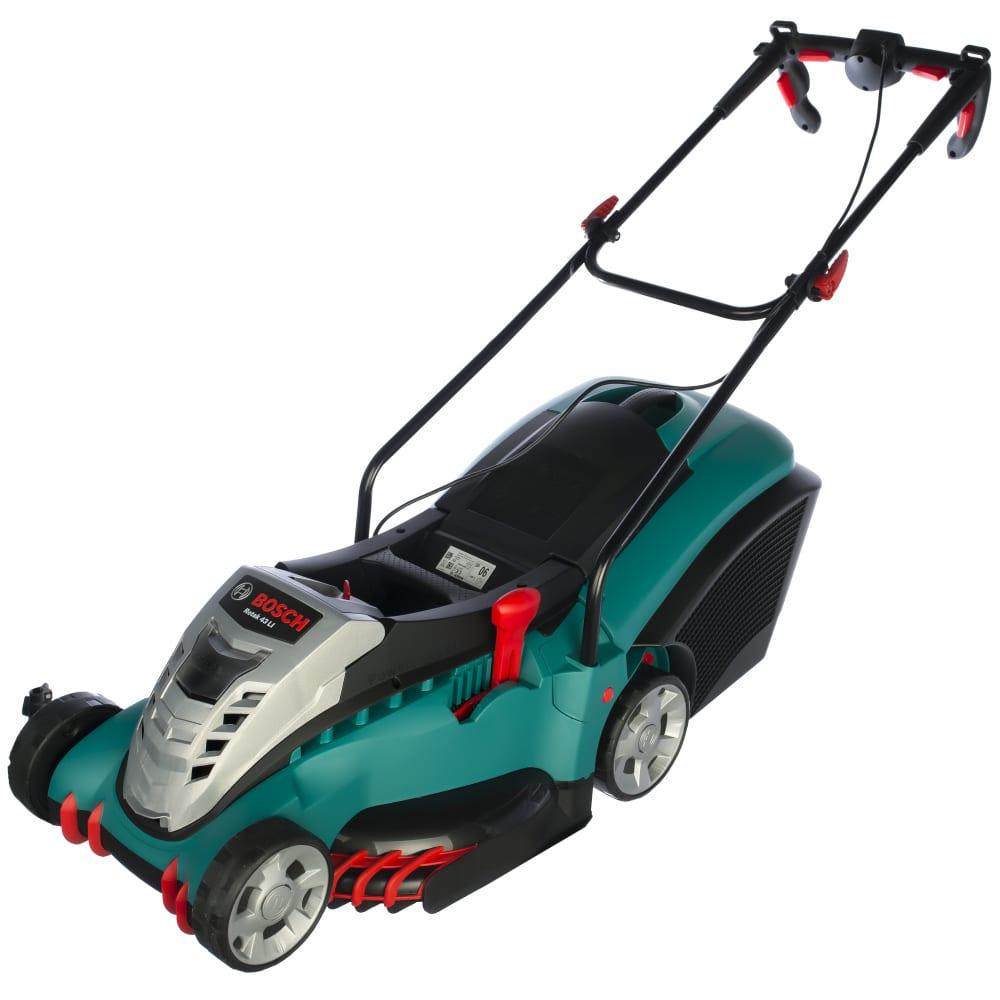 газонокосилка аккумуляторная Bosch Rotak 43 Li купить