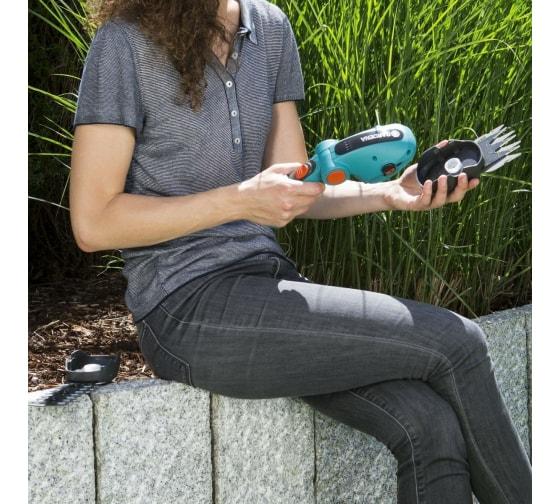 Аккумуляторные ножницы для травы GARDENA ComfortCut Li 09858-20.000.00 10