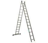 Двухсекционная алюминиевая лестница Алюмет Серия HS2 6216