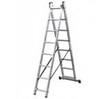 Двухсекционная алюминиевая лестница Алюмет Серия Р2 9216