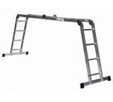 Алюминиевая четырехсекционная шарнирная лестница Алюмет Серия TL TL 4044