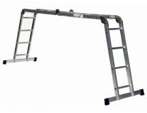 Алюминиевая четырехсекционная шарнирная лестница Алюмет Серия TL TL 4033