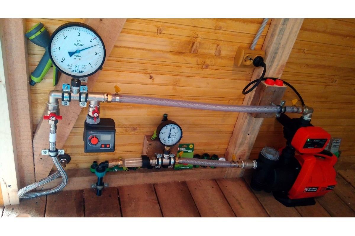 Насосная станция QUATTRO ELEMENTI Automatico 700 EL 241-826  7