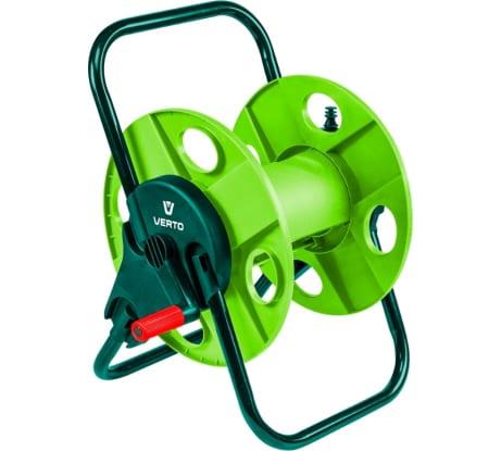Катушка для шланга VERTO 15G790 в Тамбове купить по низкой цене: отзывы, характеристики, фото, инструкция