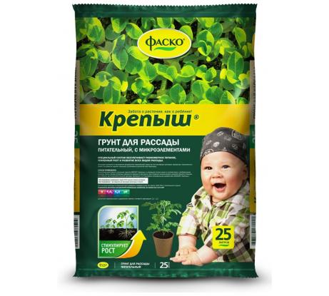 Купить грунт для рассады фаско крепыш 25 л тп0101кре04 в Ярославле - цены, отзывы, характеристики, доставка, гарантия, инструкция
