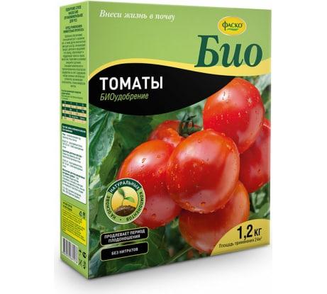 Сухое гранулированное удобрение Фаско БИО Томаты 1.2 кг Уд0102ФАС63 - цена, отзывы, характеристики, фото - купить в Москве и РФ
