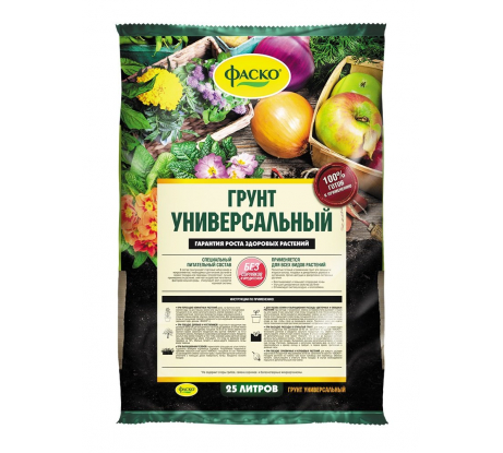 Универсальный грунт Фаско 25 л Тп0201ФАС05 в Ставрополе - цены, отзывы, доставка, гарантия, скидки