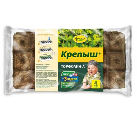 Грунт Фаско Торфолин-А Крепыш 4 л Тп0101КРЕ11 - цена, отзывы, характеристики, фото - купить в Москве и РФ