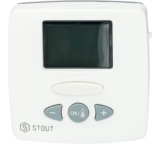 Термостат комнатный электронный WFHT-LCD STOUT RG008Q0C82UKAJ в Туле - цены, отзывы, доставка, гарантия, скидки