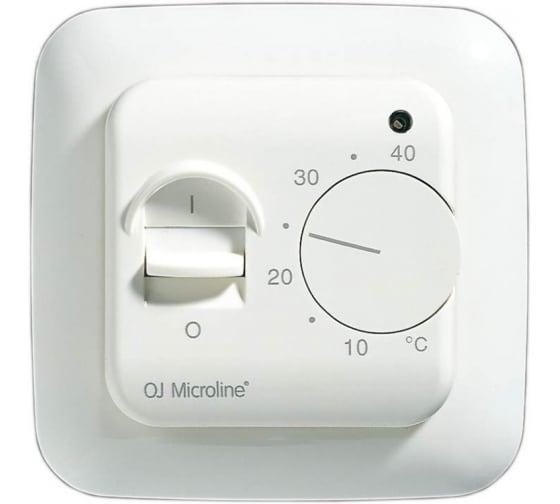 Терморегулятор с датчиком температуры пола OJ ELECTRONICS OTN-1991-RU - цена, отзывы, характеристики, фото - купить в Москве и РФ