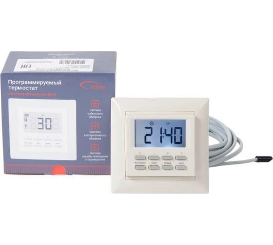 Термостат программируемый встраиваемый SPYHEAT NLC-527HN беж - цена, отзывы, характеристики, фото - купить в Москве и РФ