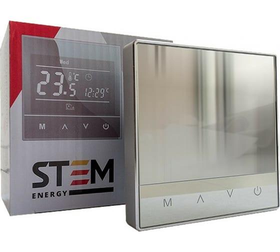 Терморегулятор STEM ENERGY SET 17 SILVER ТЕР145 в Тамбове купить по низкой цене: отзывы, характеристики, фото, инструкция
