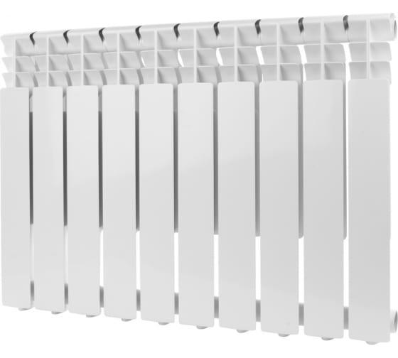 Алюминиевый радиатор ROMMER Optima 500 10 секций RAL9016 89559 1